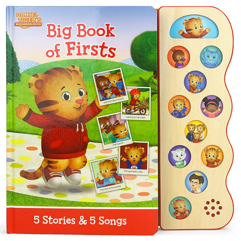 Daniel Tiger Big Book of Firsts