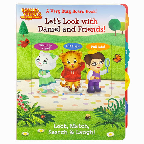 Daniel Tiger: Let's Look with Daniel and Friends! - Cottage Door Press