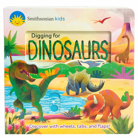 Smithsonian Kids: Digging for Dinosaurs - Cottage Door Press