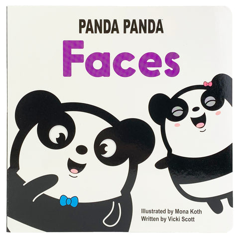 Panda Panda Faces - Cottage Door Press