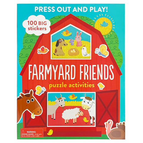 Press Out and Play! Farmyard Friends - Cottage Door Press