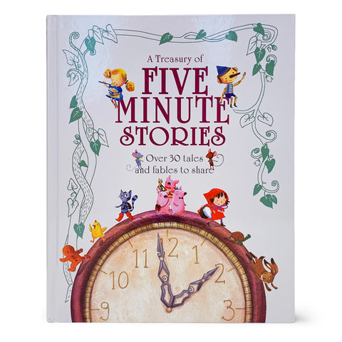 A Treasury of Five Minute Stories - Cottage Door Press