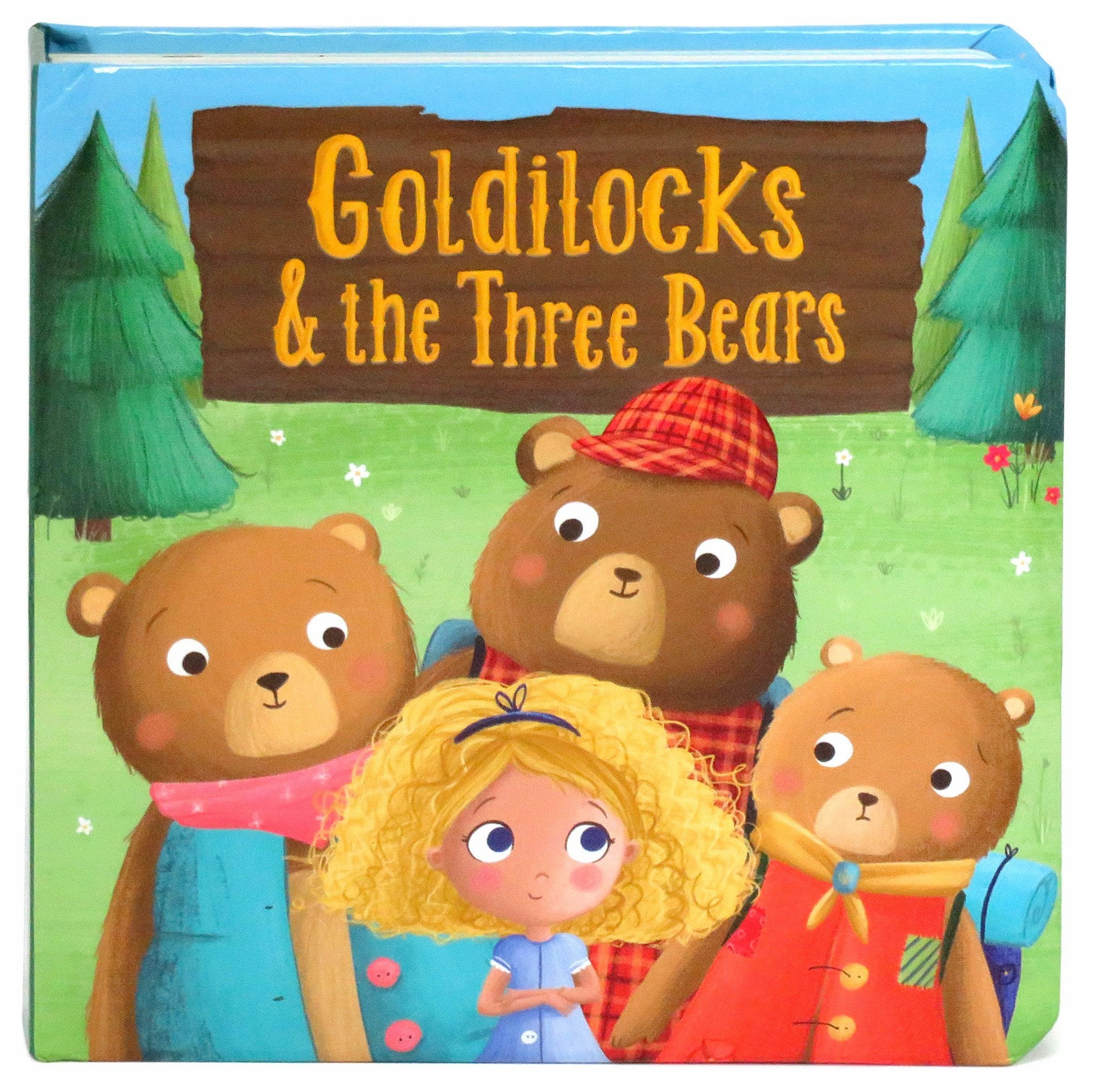 Uncategorized The Goldilocks And The Three Bears goldilocks the three bears cottage door press llc 1
