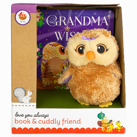 Grandma Wishes Book & Plush Gift Set