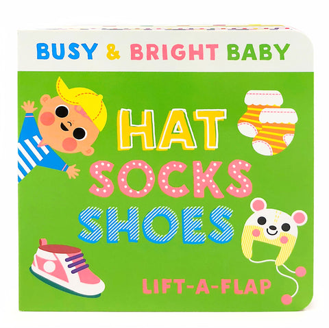 Hat Socks Shoes - Cottage Door Press