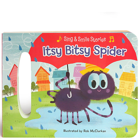 The Itsy Bitsy Spider - Cottage Door Press, LLC - 1