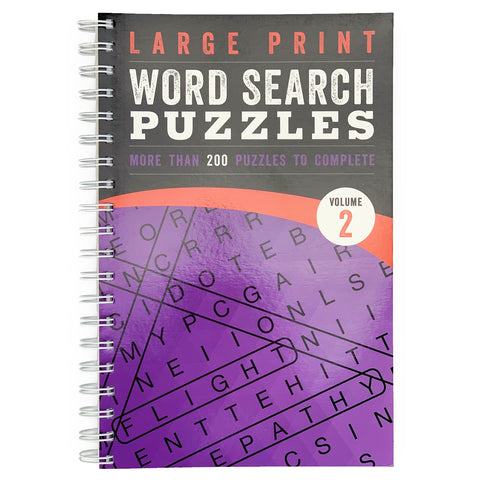 Large Print Word Search Volume 2