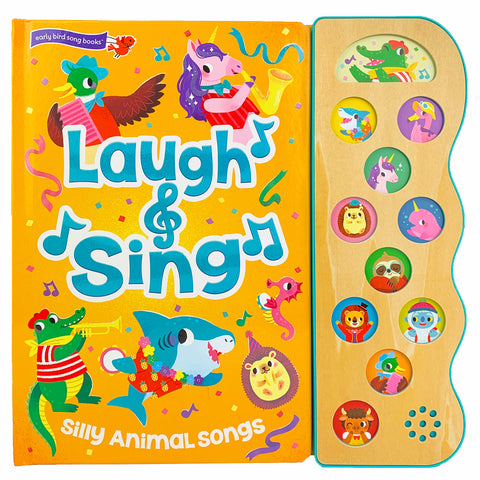 Laugh & Sing Silly Animal Songs - Cottage Door Press