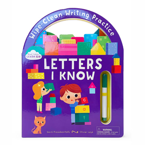 Letters I Know - Cottage Door Press