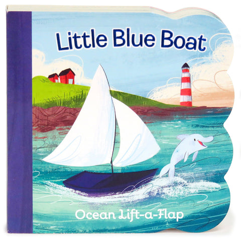 Little Blue Boat - Cottage Door Press, LLC - 1