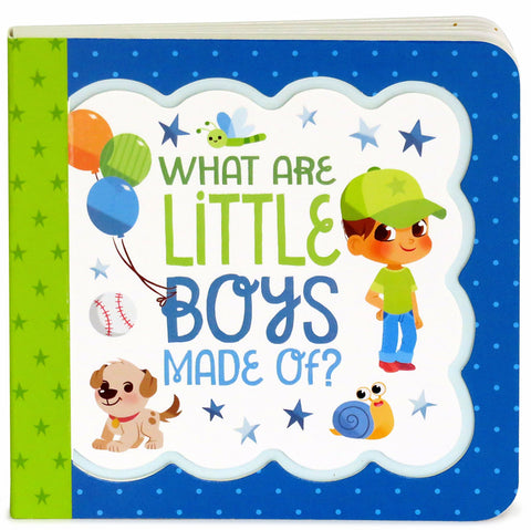 What Are Little Boys Made Of? - Cottage Door Press