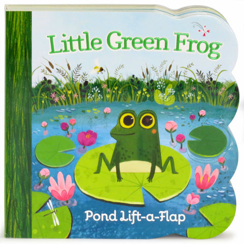 Little Green Frog - Cottage Door Press, LLC - 1