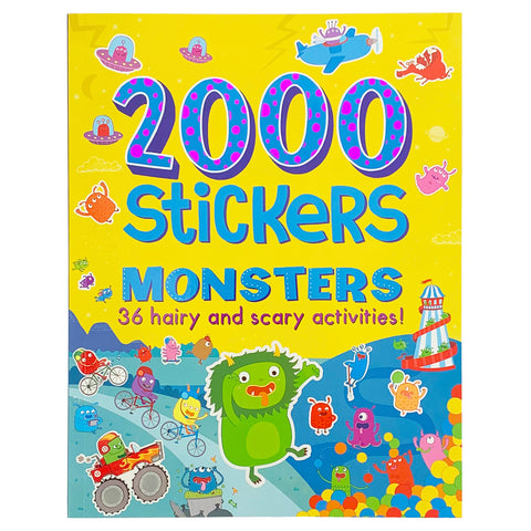 2000 Stickers Monsters - Cottage Door Press
