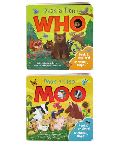 2 Pack - Moo and Who - Cottage Door Press