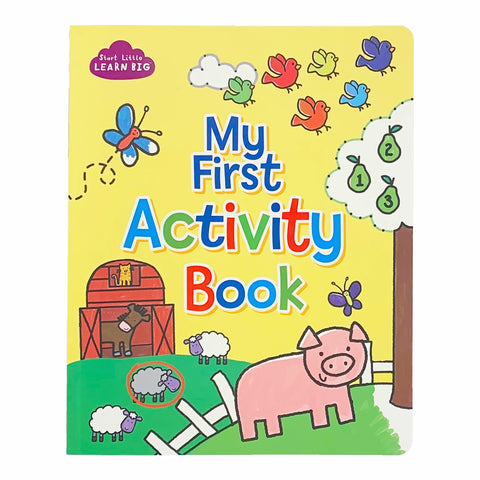 My First Activity Book - Cottage Door Press