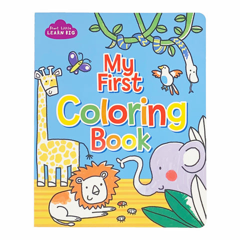 My First Coloring Book - Cottage Door Press