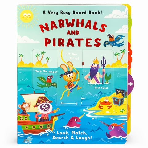 Narwhals and Pirates - Cottage Door Press