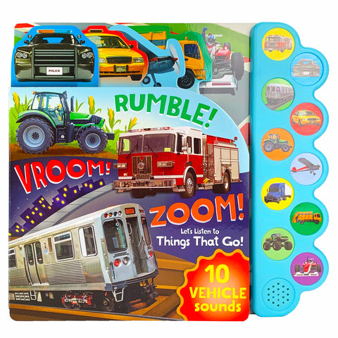 Rumble! Vroom! Zoom! - Cottage Door Press