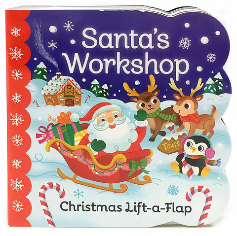 Santa's Workshop - Cottage Door Press