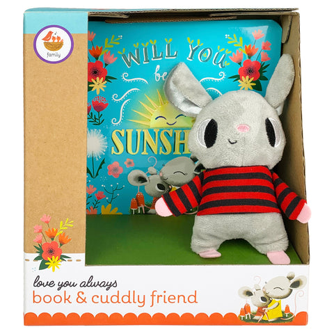 Will You Be My Sunshine Book & Plush Gift Set - Cottage Door Press