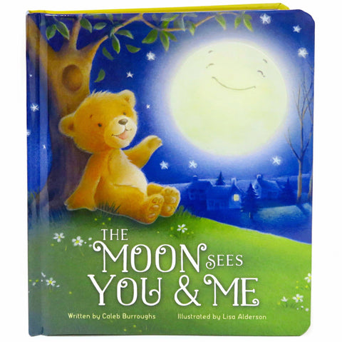 The Moon Sees You & Me - Cottage Door Press, LLC - 1