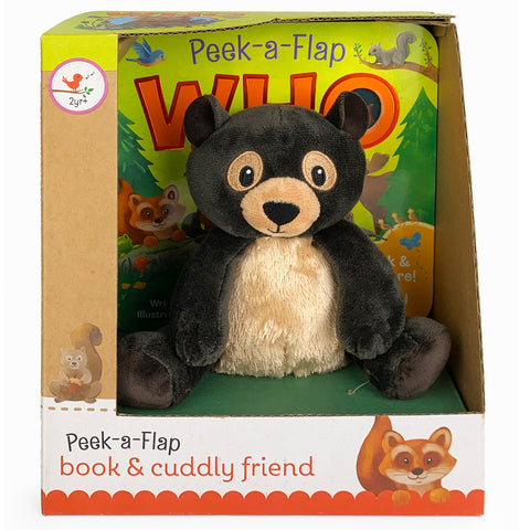 Who Book & Plush Gift Set