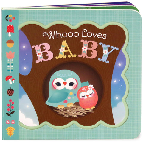 Whooo Loves Baby - Cottage Door Press