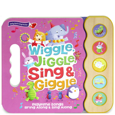 Wiggle, Jiggle, Sing & Giggle - Cottage Door Press