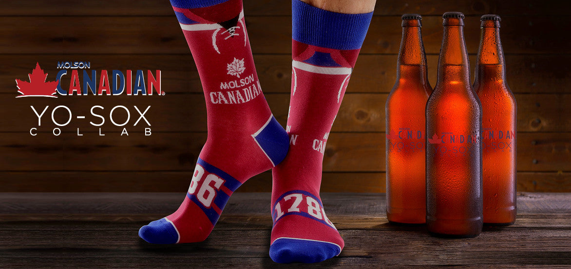 Molson Canadian Yo Sox Collection