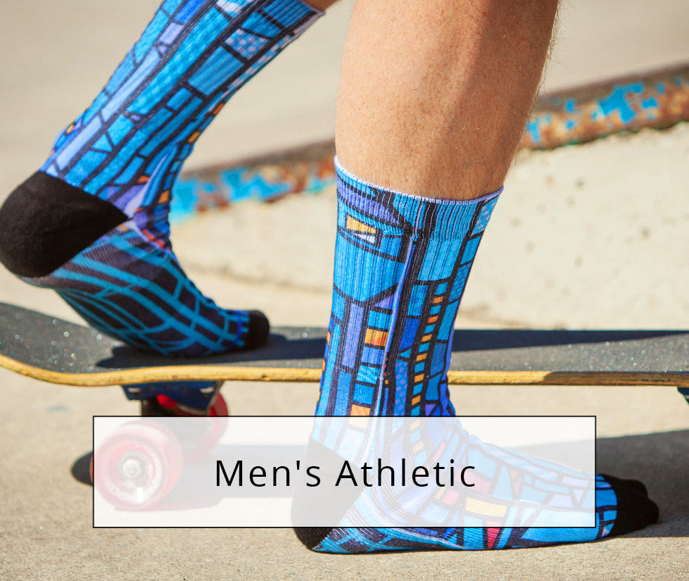 Shop Men's Sublimation Socks