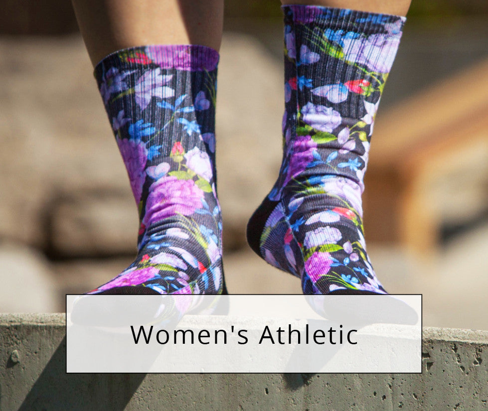 Shop Women's Sublimation Socks