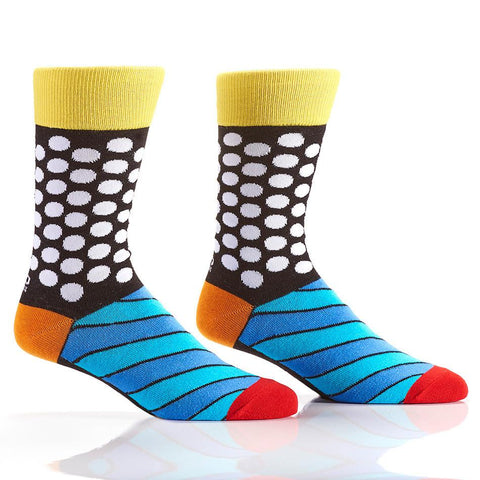 Seeing Dots: Men's Crew Socks | Romero Britto Collection
