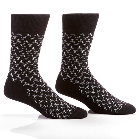 Shaken Not Stirred: Men's Crew Socks