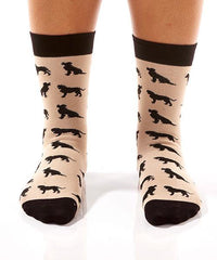 Labrador Retriever Women's Crew Socks Model Image Front | Yo Sox Canada
