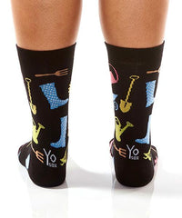 Gardening Women's Crew Socks Model Image Back | Yo Sox Canada