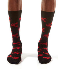 Red Lobster: Men's Crew Socks - Yo Sox Canada