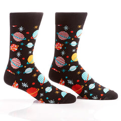 Out Of This World: Men's Crew Socks - Yo Sox Canada