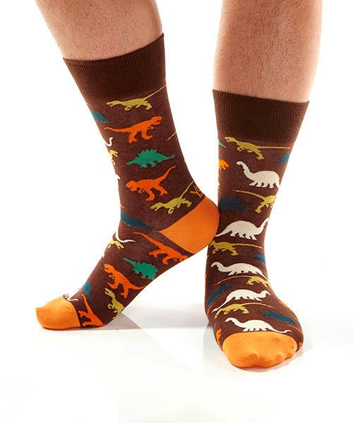 Land Before Time: Men's Crew Socks - Yo Sox Canada