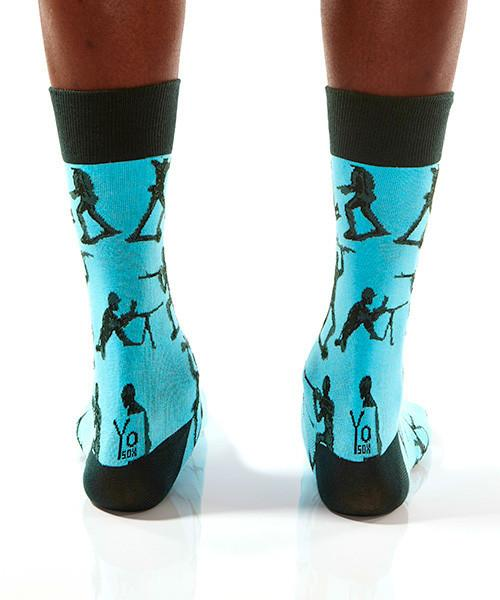 Sir, Yes Sir: Men's Crew Socks - Yo Sox Canada