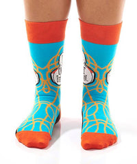 I Can't Even Women's Crew Socks Model Image Front | Yo Sox Canada