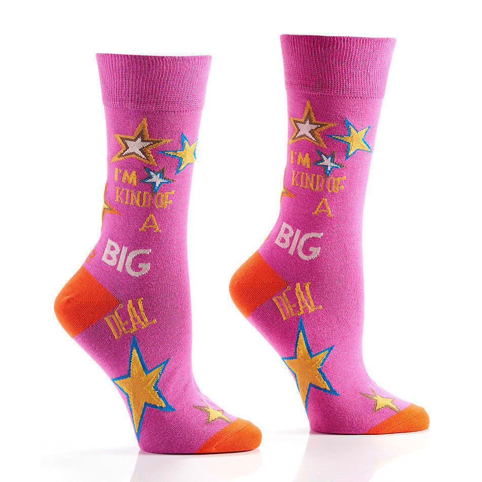 Big Deal Women's Crew Socks | Yo Sox Canada