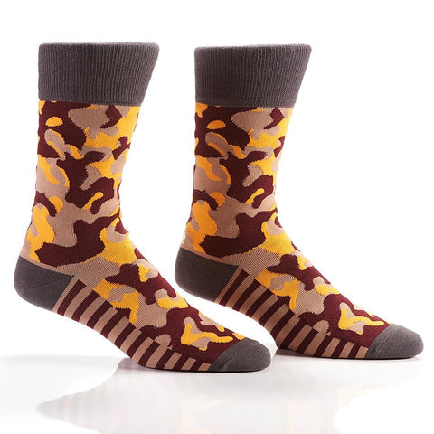 Incognito: Men's Crew Sock | Pillar Collection - Yo Sox Canada