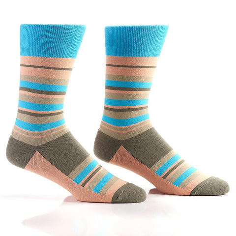 Simple Stripes: Men's Crew Sock | Pillar Collection