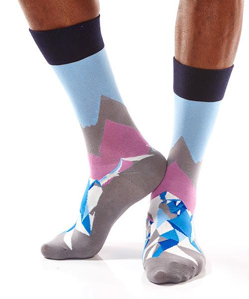 At The Summit: Men's Crew Sock | Pillar Collection