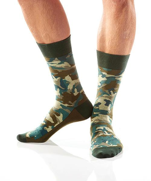 You Can't See Me: Men's Crew Socks