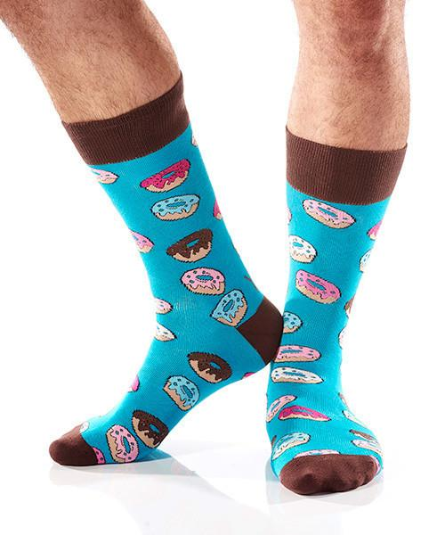 Sugar High: Men's Crew Socks - Yo Sox Canada