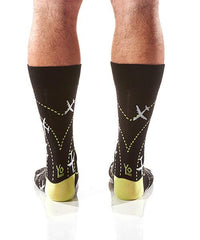 Perfect Landing: Men's Crew Socks - Yo Sox Canada