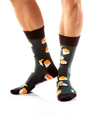 Keep It Raw: Men's Crew Socks - Yo Sox Canada