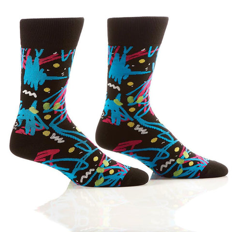 Graffiti: Men's Crew Socks | Patrick Patterson Collection - Yo Sox Canada