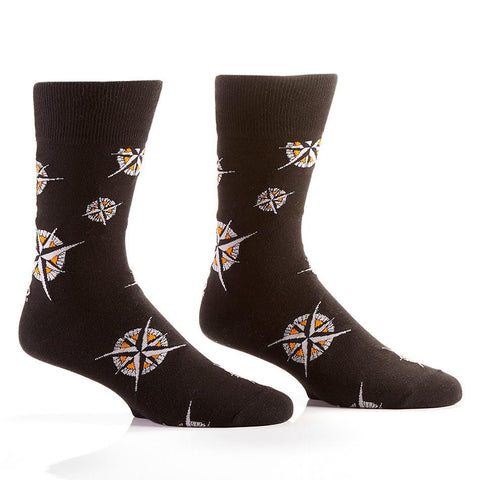Get Lost: Men's Crew Sock | Pillar Collection - Yo Sox Canada
